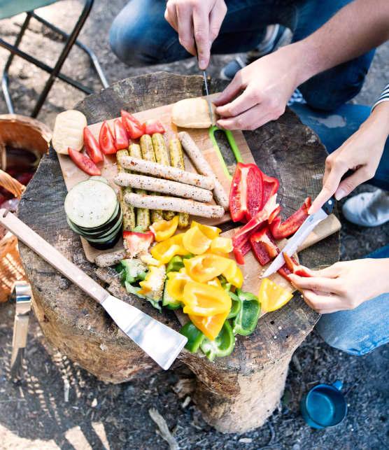 5 trucs et astuces pour bien manger, même en camping!
