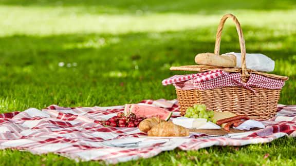 8 accessoires pour organiser un pique-nique au parc