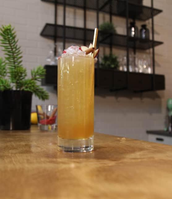 Recette de cocktail à l'érable