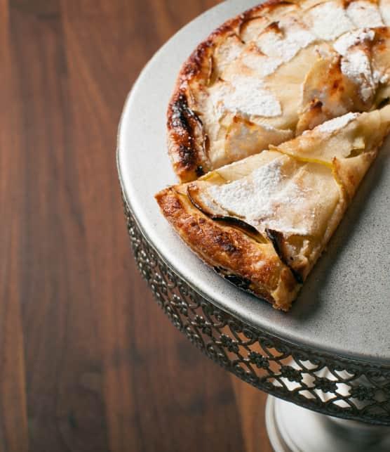 Comment faire une tarte fine aux pommes