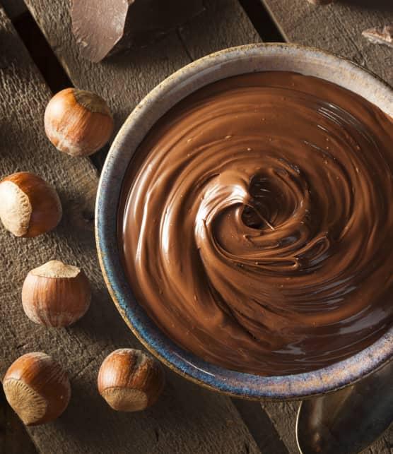 Tartinade au chocolat et aux noisettes