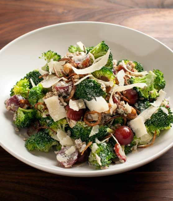 salade gourmande de brocoli