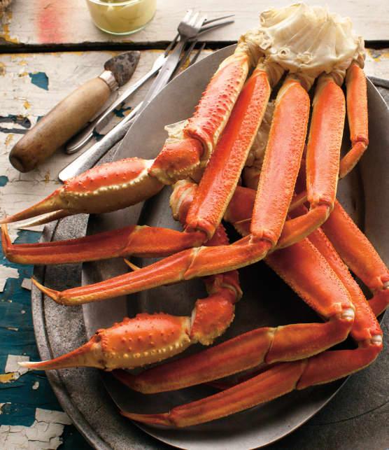 Le crabe des neiges en saison