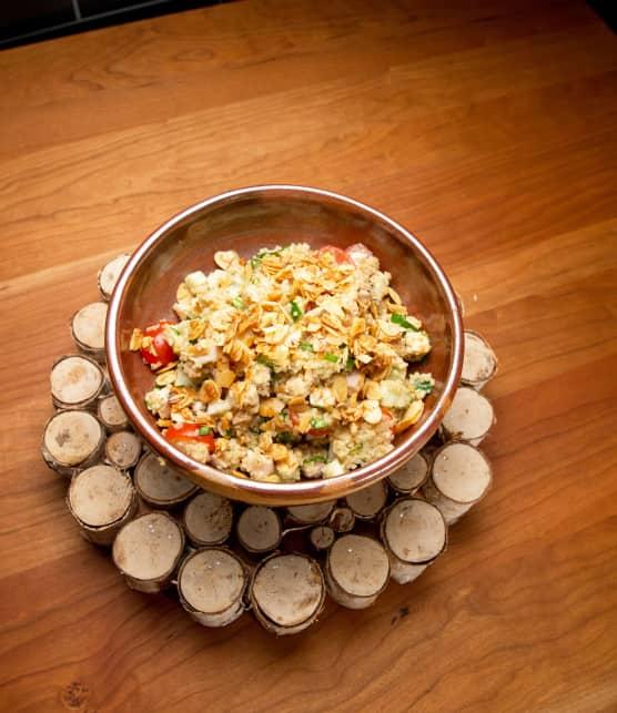 Salade repas au quinoa et poulet grillé