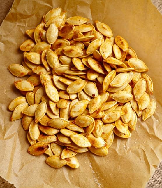 graines de citrouille grillées