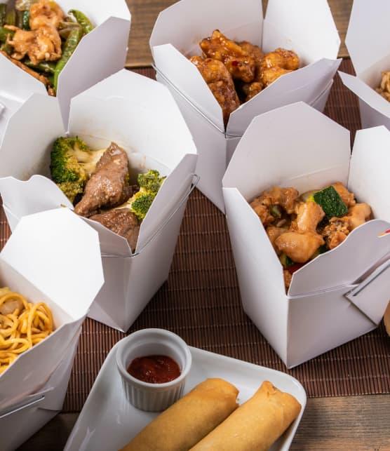 TOP : 5 recettes inspirées de take out chinois