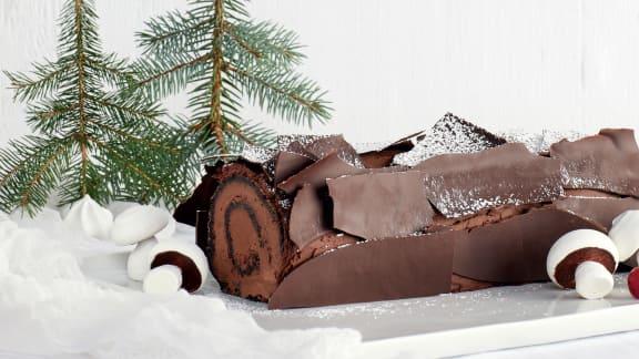 Bûche de Noël royale grand cru