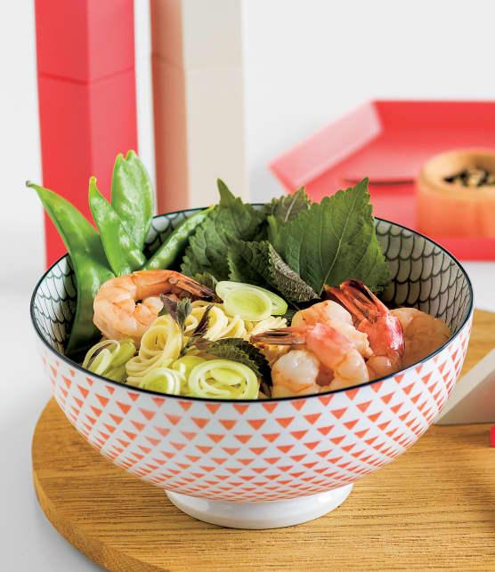 soupe ramen aux crevettes
