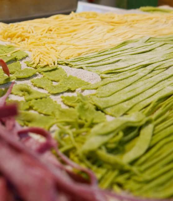 Comment faire des pâtes maison avec Maria Di Domenico