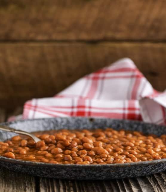 fèves au lard traditionnelles à la mijoteuse