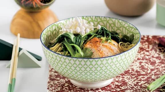 Soupe ramen au poulet