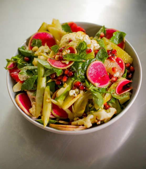 Recette de salade de pomelo