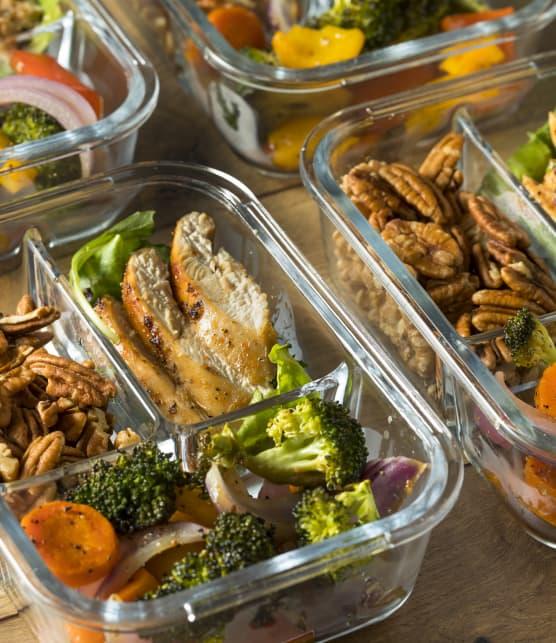 « Meal prep » : 6 trucs pour être plus efficace