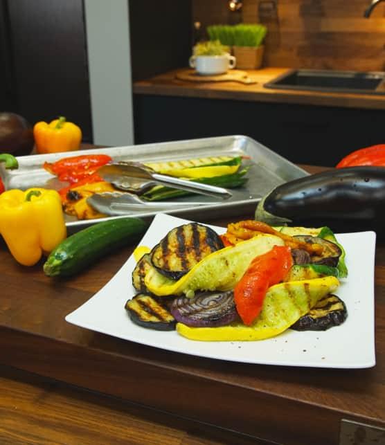 Légumes grillés sur le BBQ à la perfection
