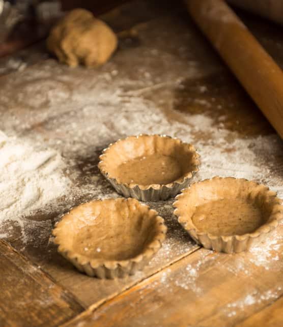 Pâte sablée à la farine d'épeautre et à l'huile d'olive