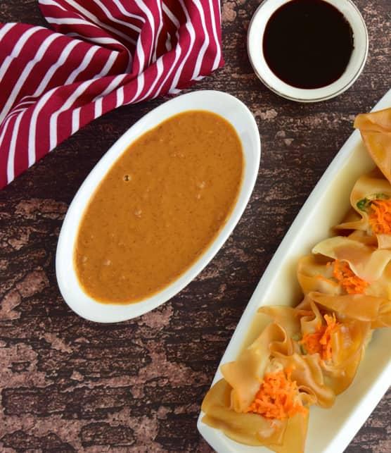 sauce aux arachides pour dumplings