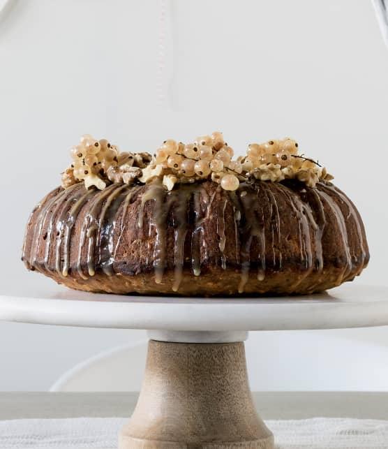 Gâteau panais et bourbon