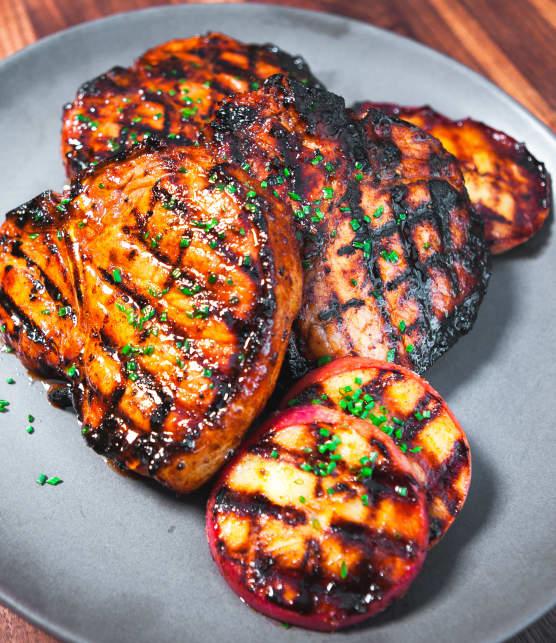 BBQ : quoi boire avec des côtelettes de porc?