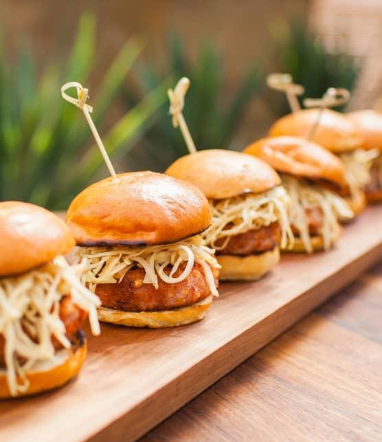 Mini-burger de porc BBQ