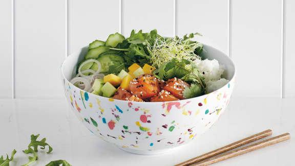 TOP : 6 recettes de Poke bowls santé et colorés