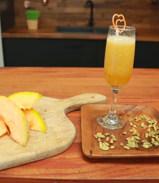 Smoothie orange vitalité