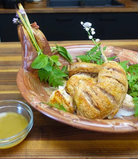 Poulet en crapaudine à la vietnamienne