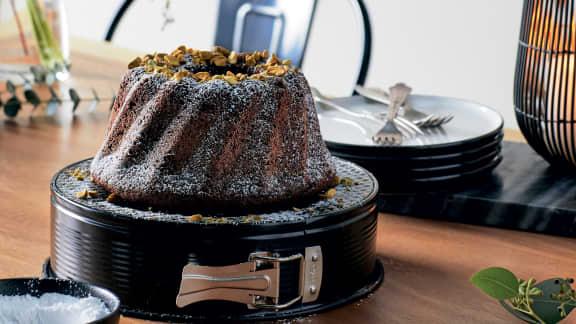 Gâteau avocat et chocolat