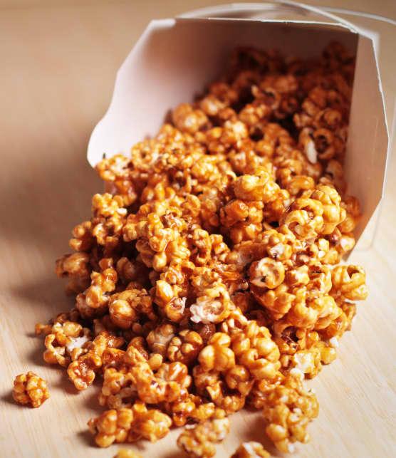 Popcorn au caramel de Mme Bilodeau