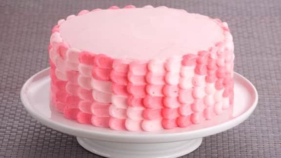 Gâteau au chocolat et aux fruits rouges
