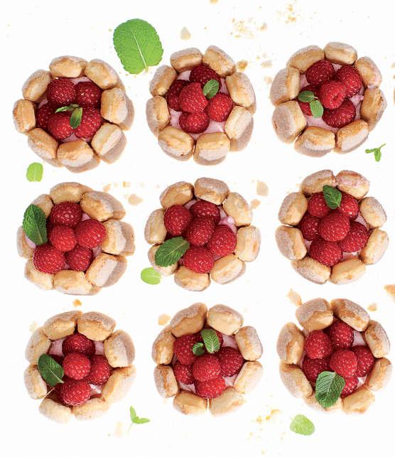Desserts fruités et gourmands