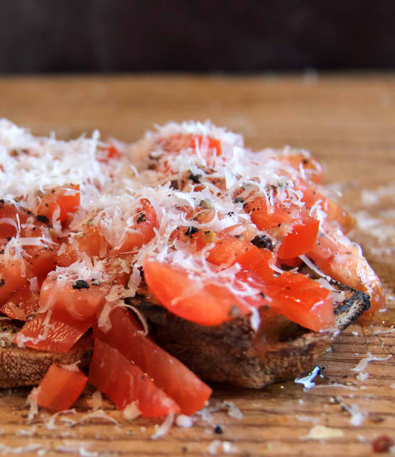 Recette de bruschetta traditionnelle