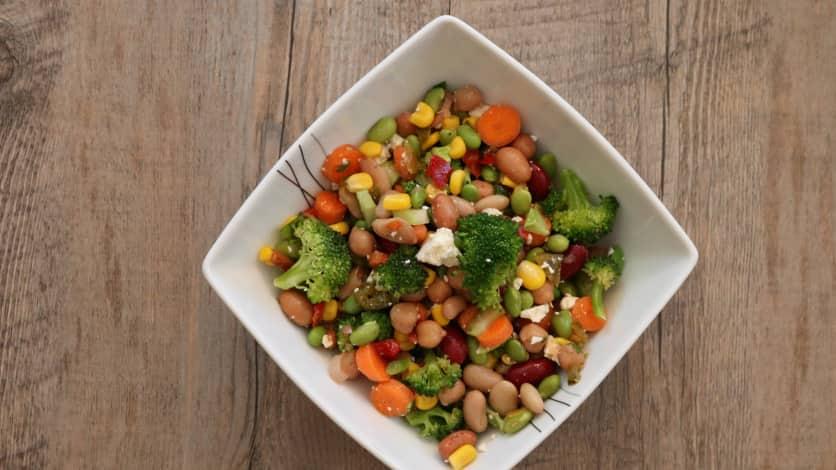 Salade de légumineuses à la mexicaine