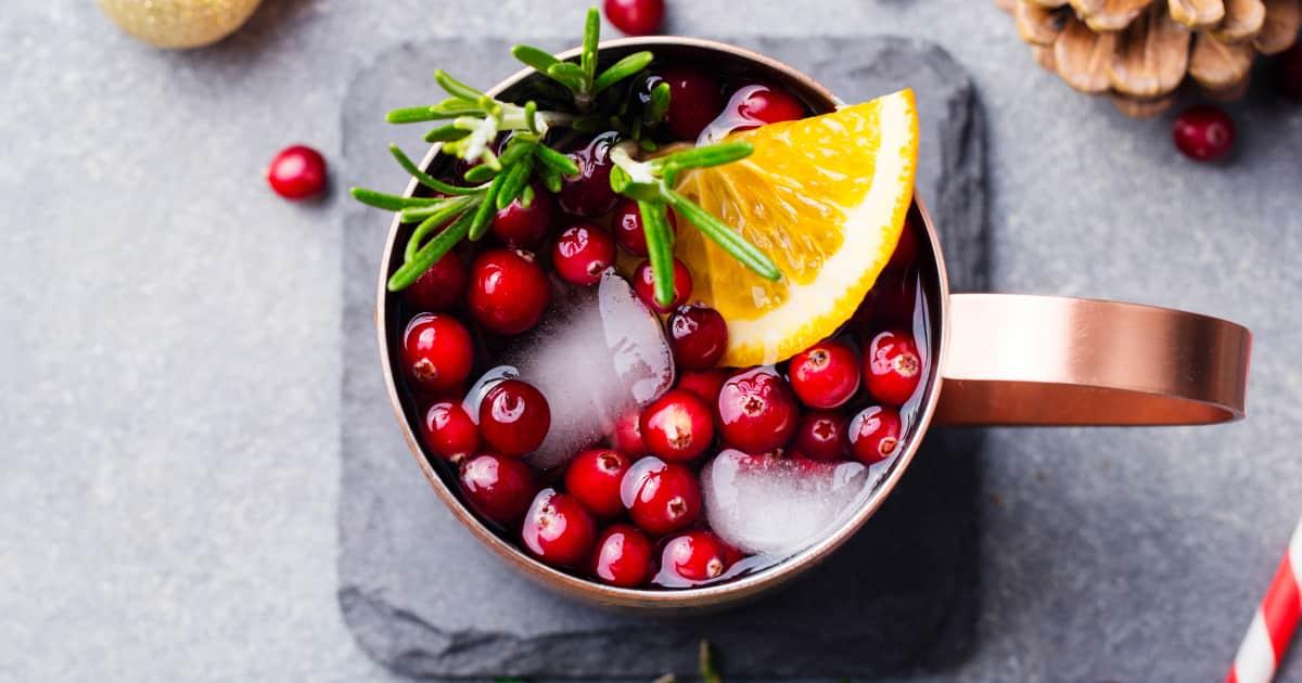 Receta de limonada de arándano |  Ánimo