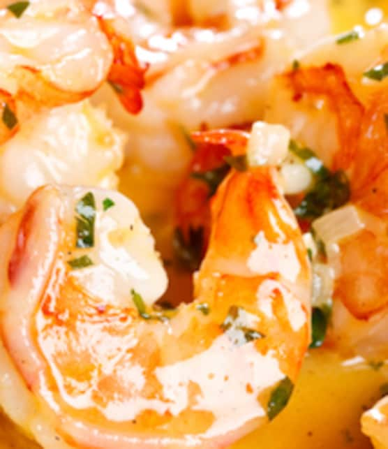 crevettes indiennes au curcuma