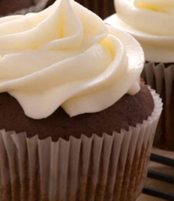 cupcakes au chocolat et glaçage au beurre