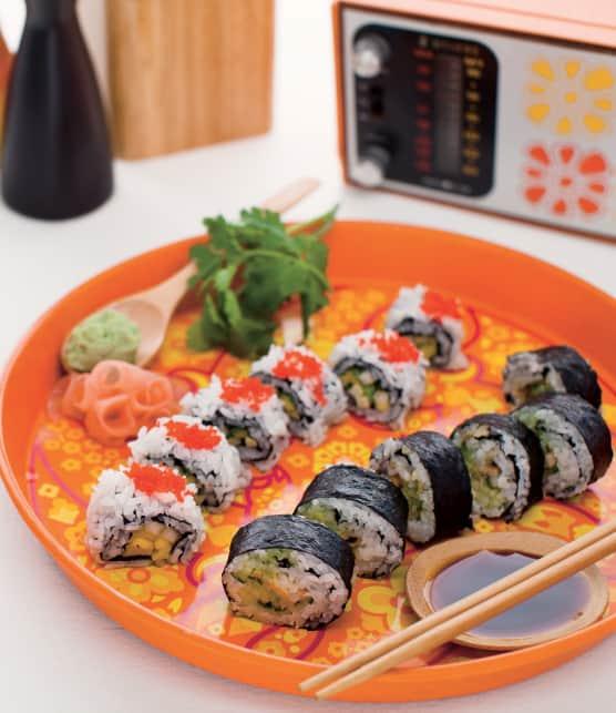 TOP : 10 recettes de sushis pour une soirée entre amis