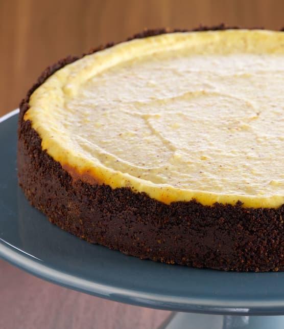 Cheesecake à la ricotta et aux biscottis