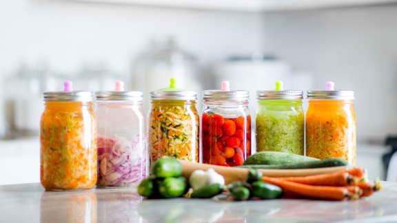 Préparer ses conserves à l'avance : les fruits et légumes qui durent le plus longtemps