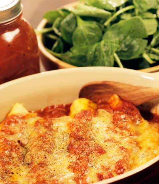 cannellonis au saumon et boursin cuisine