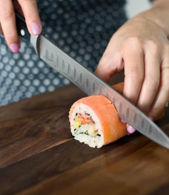 Comment faire des sushis Californien selon Geneviève Everell