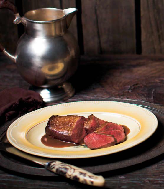 magret de canard sauce au thé Earl Grey
