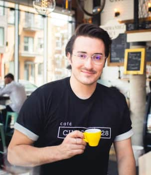 Bryan le barista