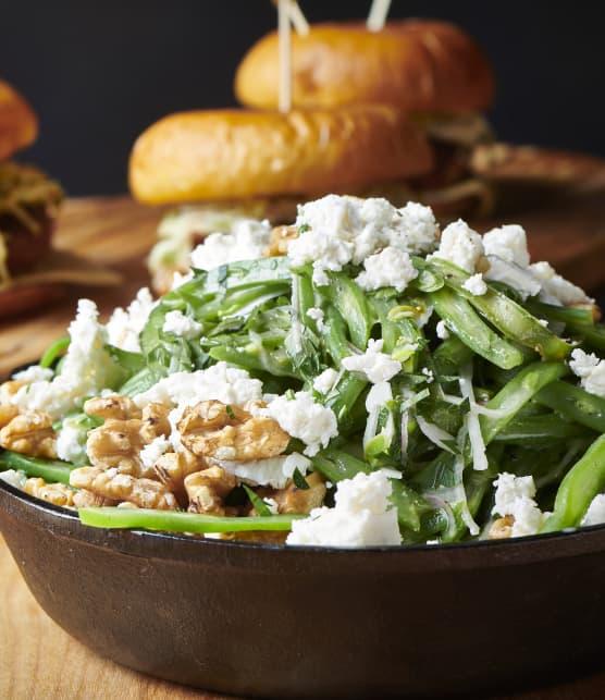 Salade haricots verts et feta