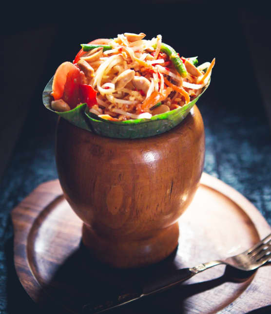 Tum Thai (salade de papaye verte)