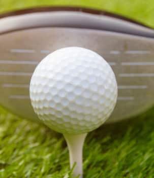 Terrain de golf sous surveillance