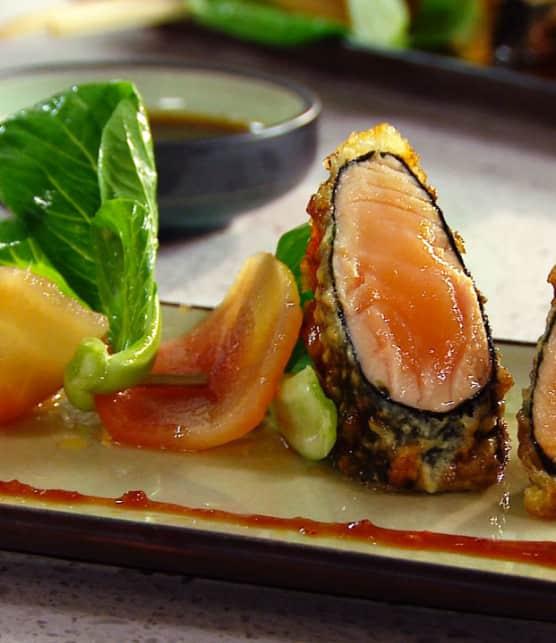 saumon frais à la façon du général Tao