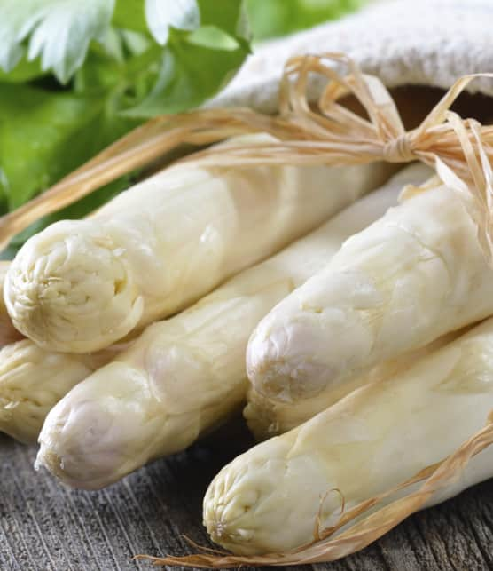 salade d'asperges blanches