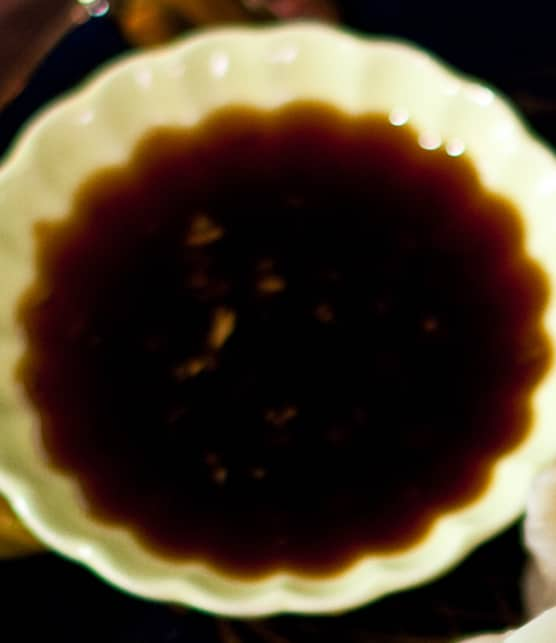 sauce au gingembre pour dumplings