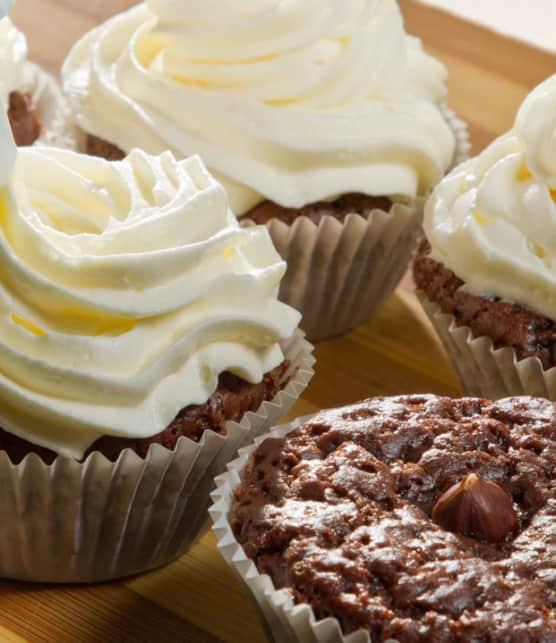 cupcake café-noisette