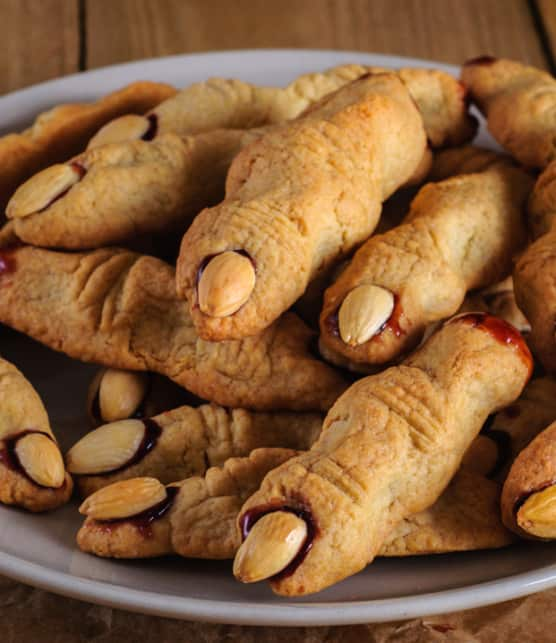 biscuits doigts de sorcière